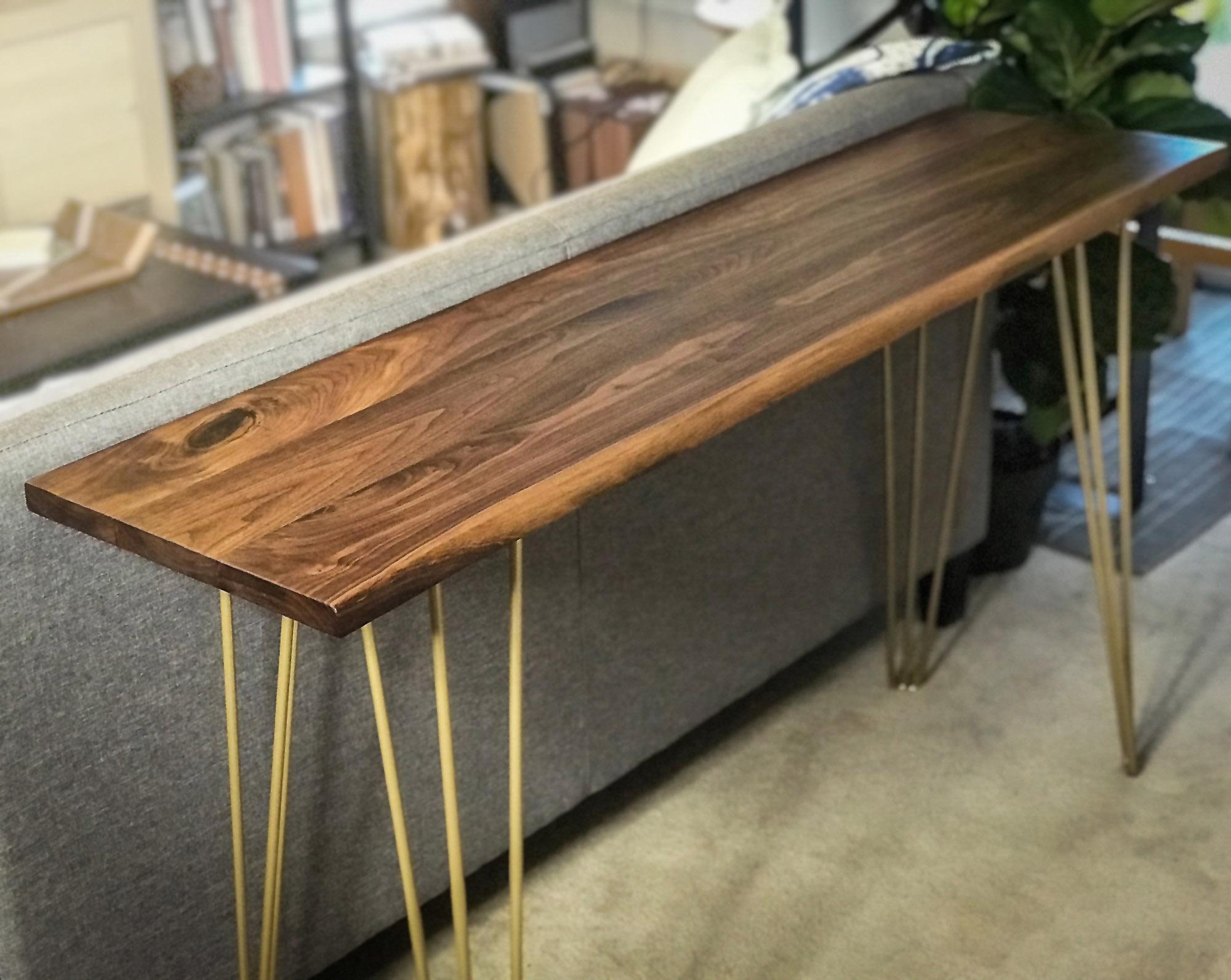 live edge walnut sofa table thisisurbanmade rh thisisurbanmade com live edge walnut sofa table live edge sofa table legs